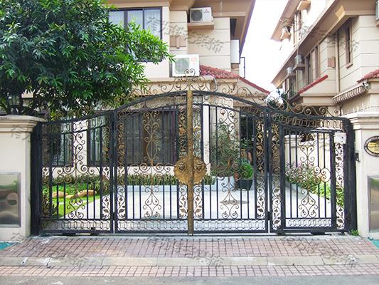 铁艺大门栏杆