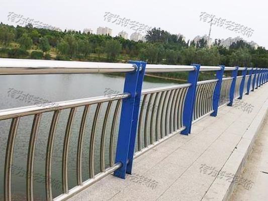 河道不锈钢栏杆定制
