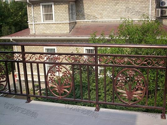 高端铝艺阳台栏杆