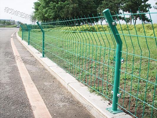 网格栅栏杆