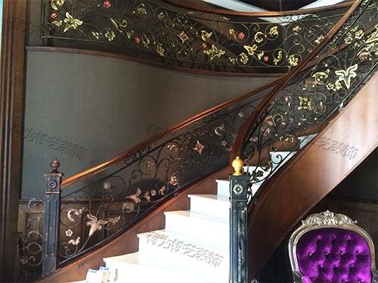 室内楼梯栏杆