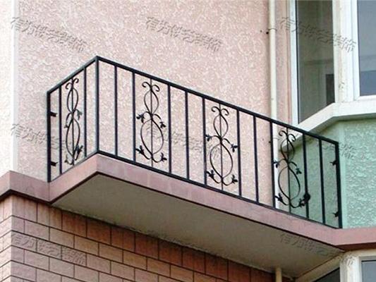 铁艺空调护栏